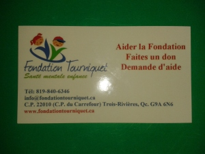 Carte affaires - Fondation Tourniquet