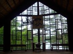 Chapelle ou salle communautaire - Verrière sur le lac
